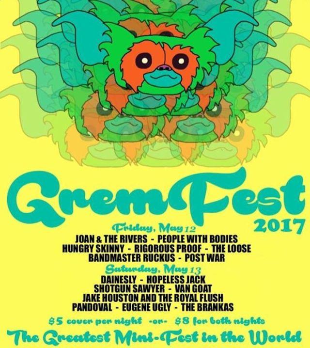 Gremfest '17 flyer